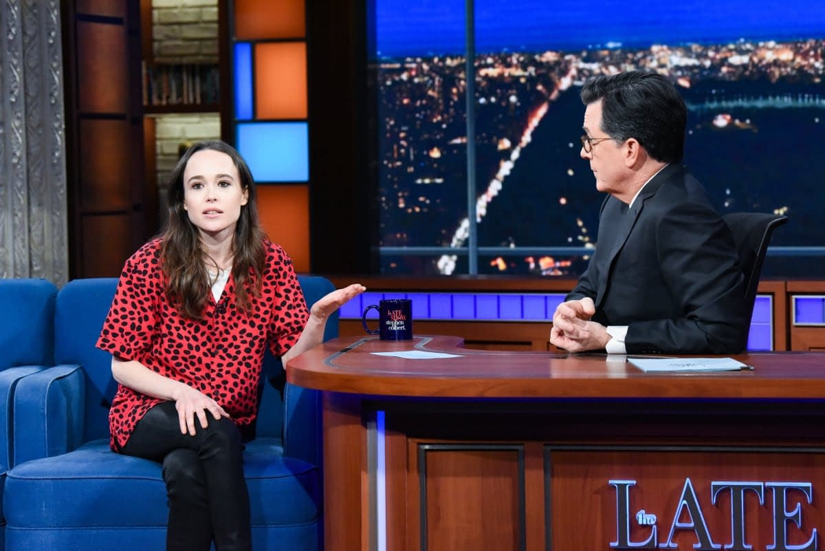 "Umbrella Academy's Ellen Page On Trump, Pence and Hateful Leadership: ""This Needs to F***ing Stop"" [VIDEO]"