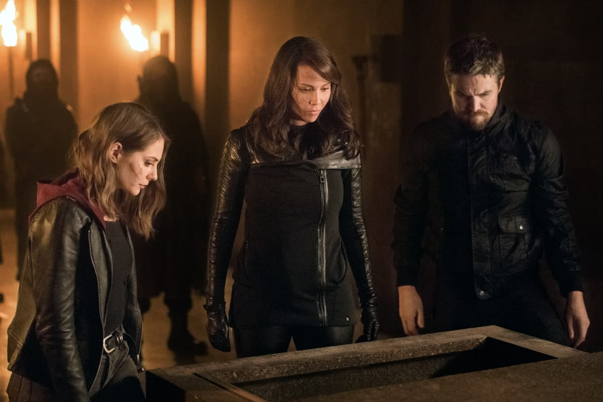 """""""Arrow"""": Oliver's """"Leap of Faith"""" Lands Him in Nanda Parbat [PREVIEW]"""