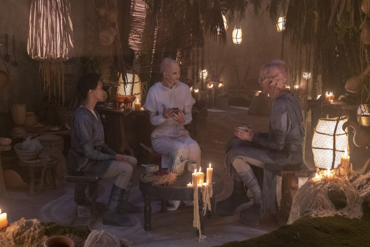 "'Star Trek: Discovery' Season 2, Episode 6 ""The Sound Of Thunder"" Asks: Can Saru Go Home Again? [PREVIEW]"