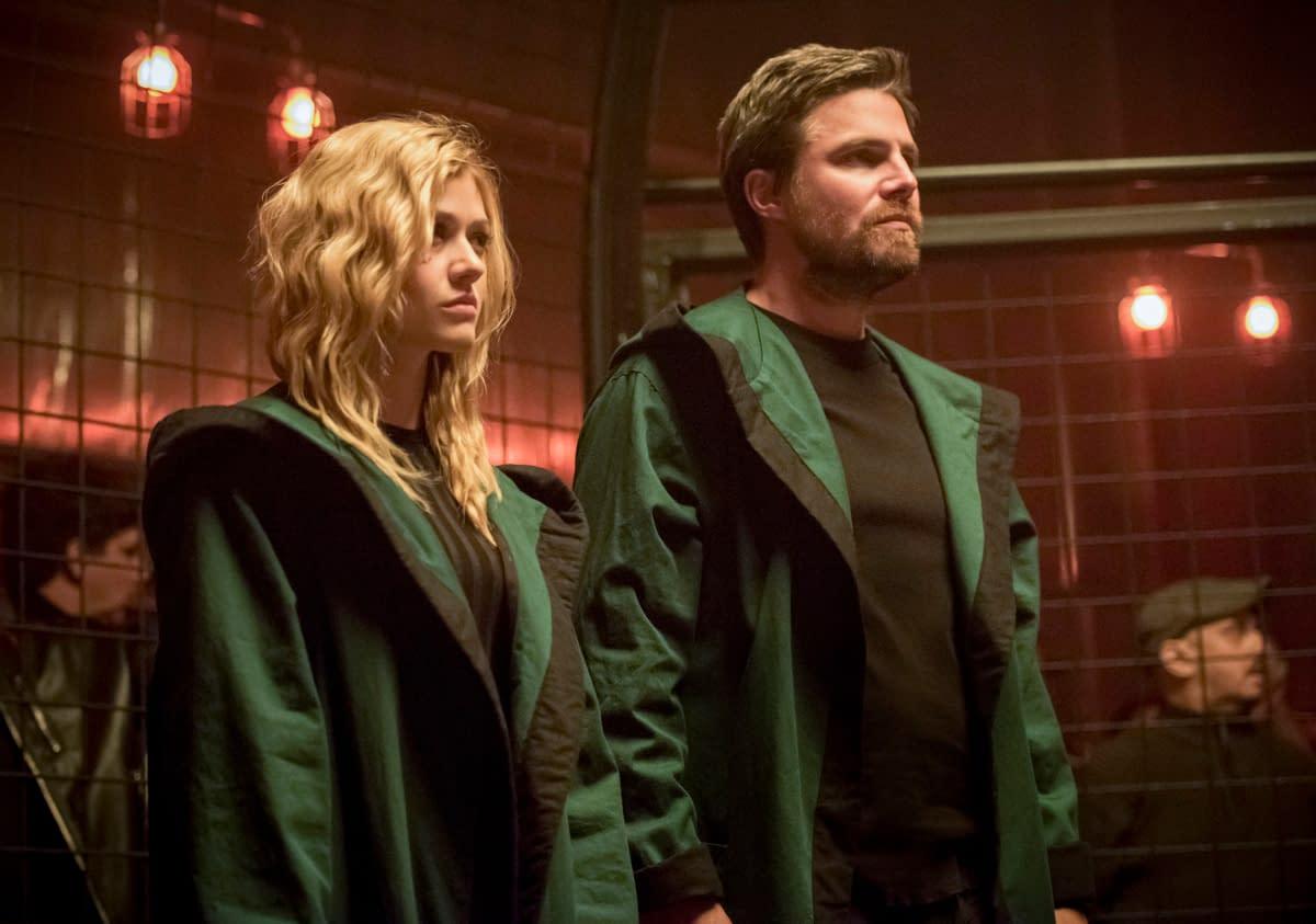 """Crisis"" Management: Katherine McNamara Talks Mia Smoak, Passing of ""Arrow"" Torch [VIDEO]"