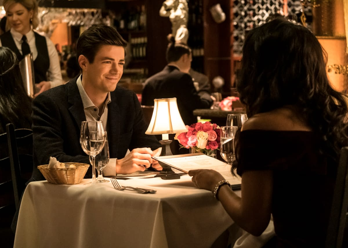 """""""The Flash"""" Season 6 """"Love Is A Battlefield"""": Amunet – Barry & Iris' Deadly Valentine's Day """"Third Wheel"""" [PREVIEW]"""