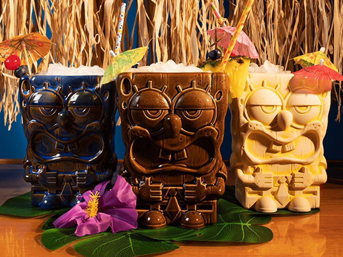 Mondo Has Some Epic Spongebob Squarepants Tiki Mugs Up For Order