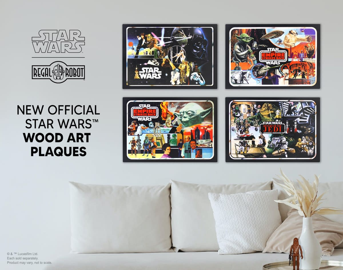 Vintage Star Wars Collector Case Art Returns with Regal Robot
