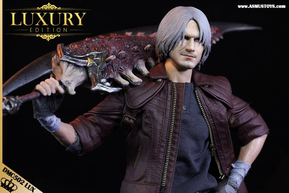 """Devil May Cry V"" Dante is Ready to Slay with New Asmus Toys Figure"
