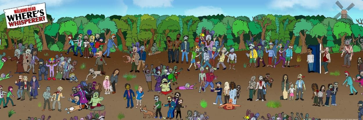 """The Walking Dead's """"Where's Waldo"""" Spoof a Bit More Disturbing Than We Expected"""