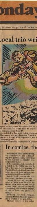 Erik Larsens Secret Origin Of Savage Dragon 34 Years Ago