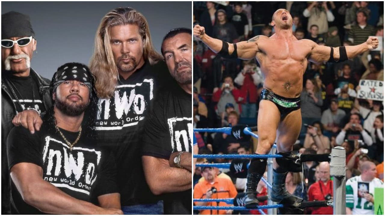 New World Order (nWo) and Dave Bautista First 2020 Inductees to WWE Hall of Fame