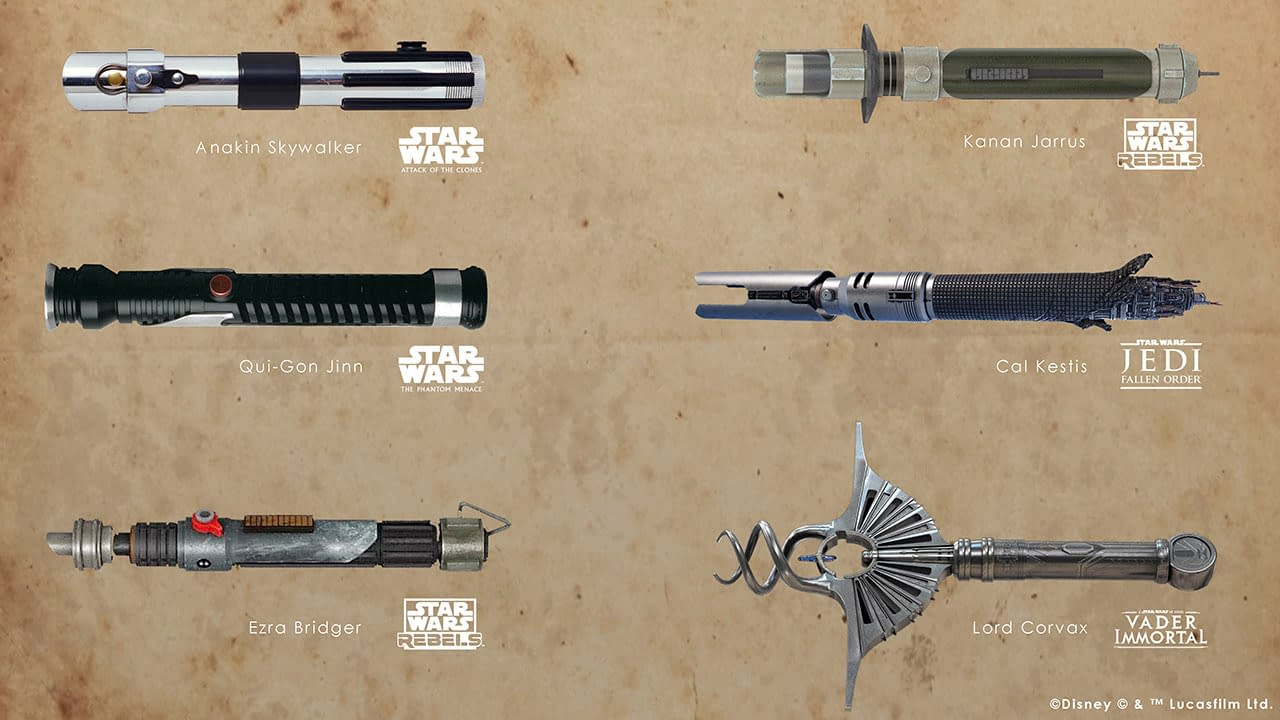 Star Wars Fans Can Vote on Next Galaxy's Edge Legacy Saber
