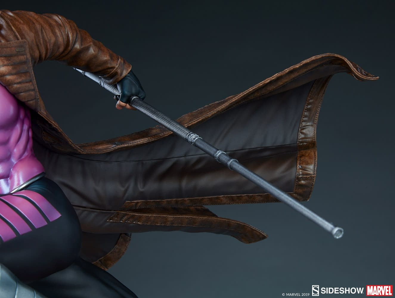Gambit Enters the Danger Room with New Sideshow Collectible Statue