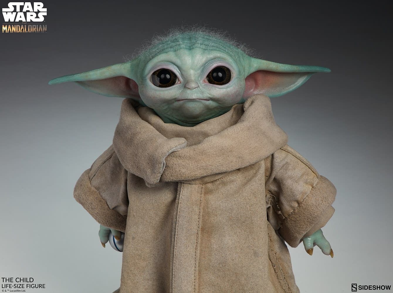 Baby Yoda Revealed by Sideshow Collectibles, Details Are Here!