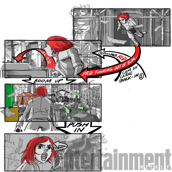 Okja (2017) Storyboard