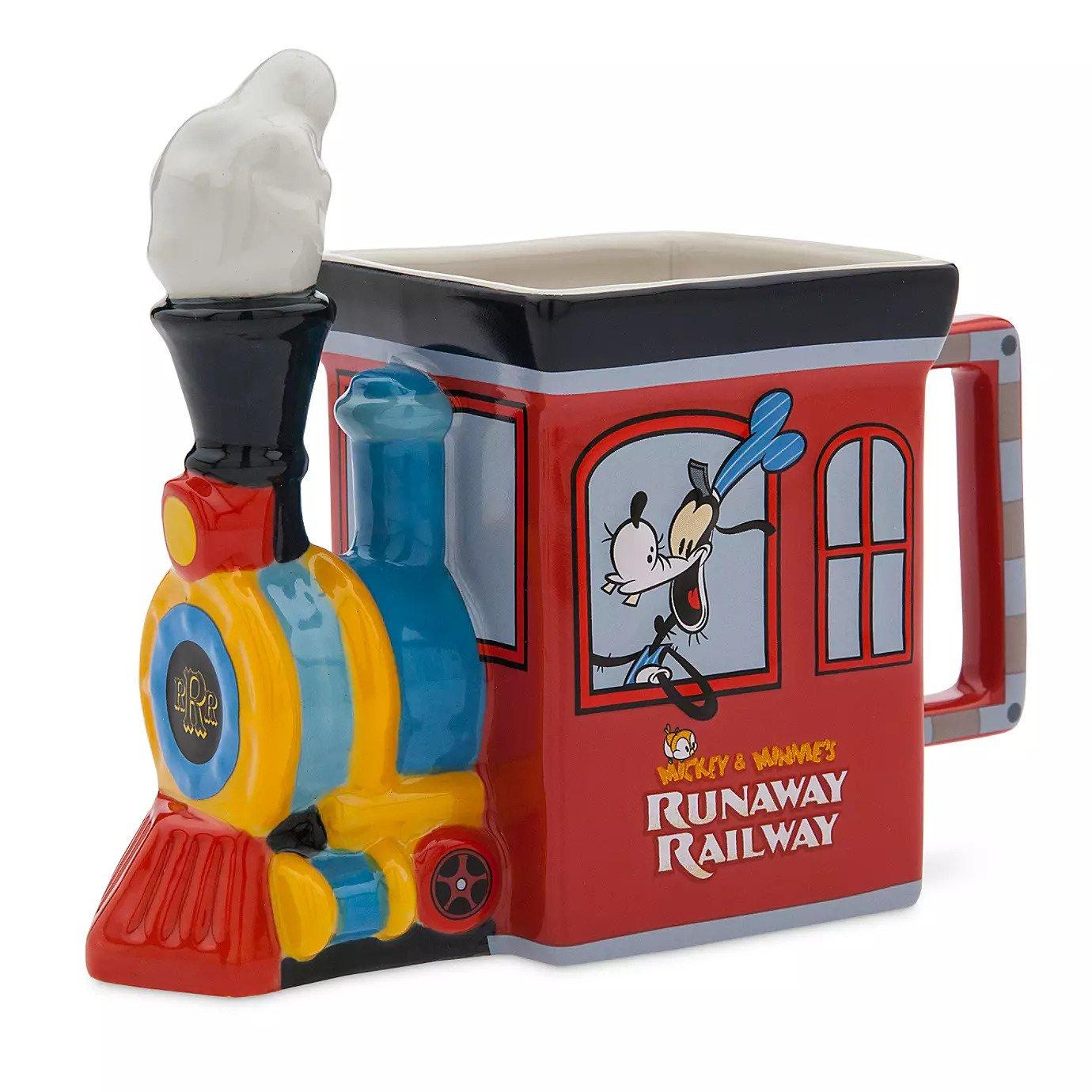 Disney Mickey Minnie/'s Runaway Railway Ear Hat for Adults Rafferty Limited New
