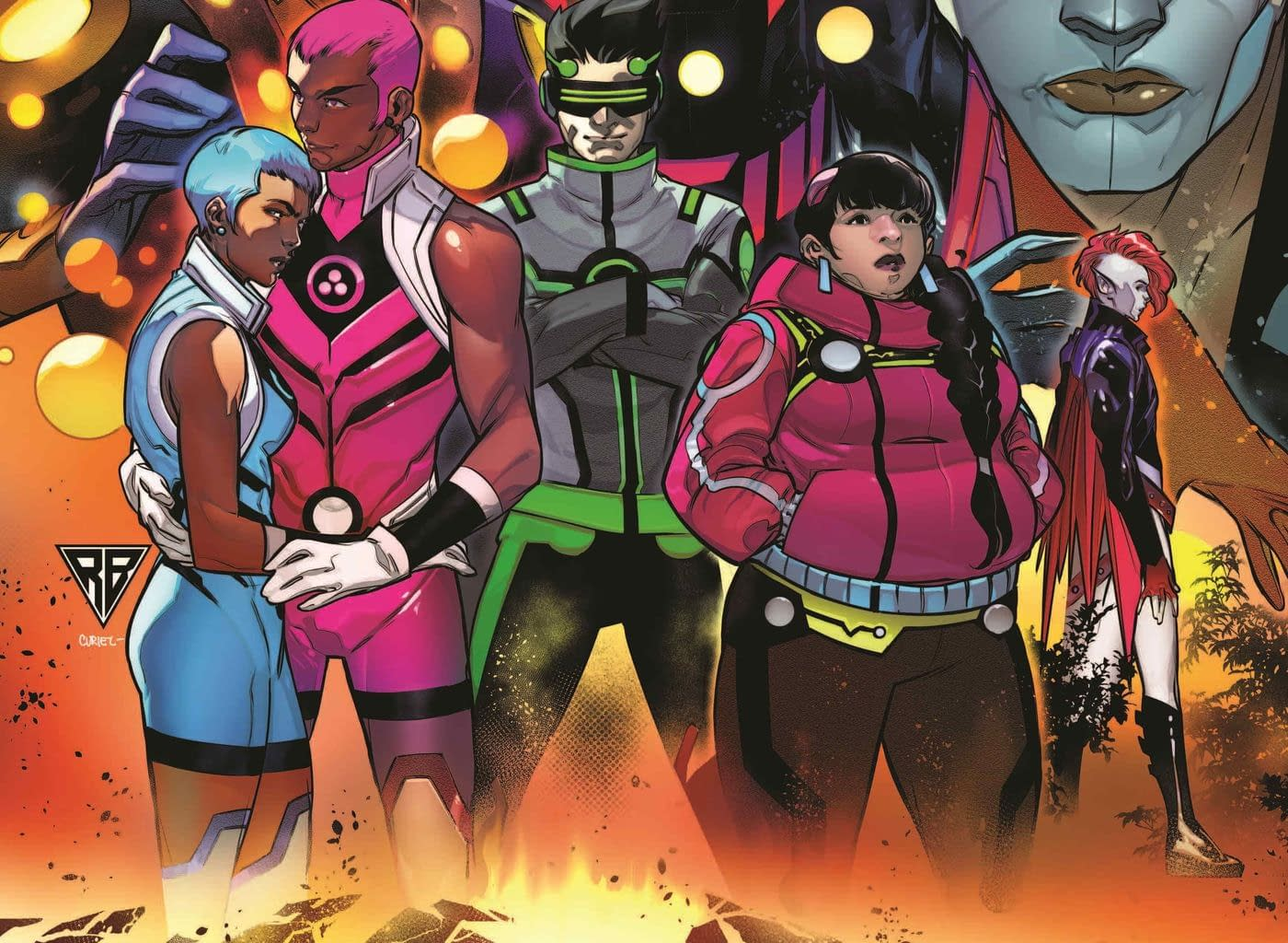 Daniel Kibblesmith and Luciano Vecchio Bring Back New Warriors in April