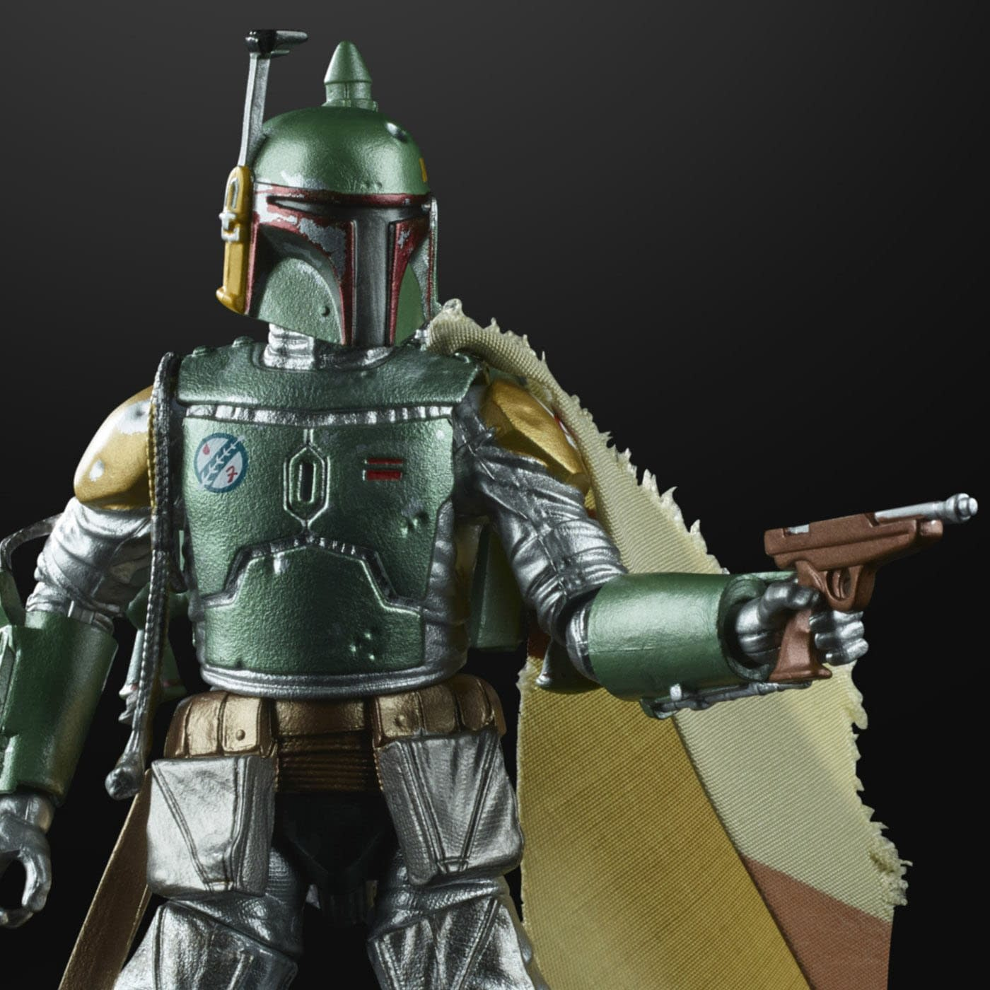 Carbonized BOBA FETT Figure ~ IN HAND Brand NEW Star Wars The Black Series