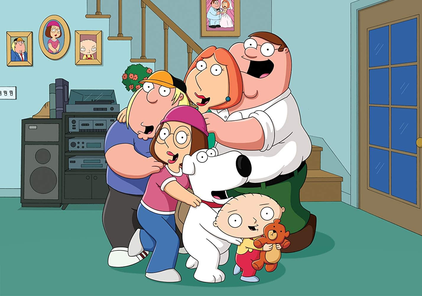 Family Guy Dysfunctional Griffins