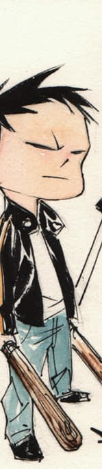 What If Bruce Clark And Diana Went To The Same School Study Hall Of Justice A New Novel By Derek Fridolfs And Dustin Nguyen
