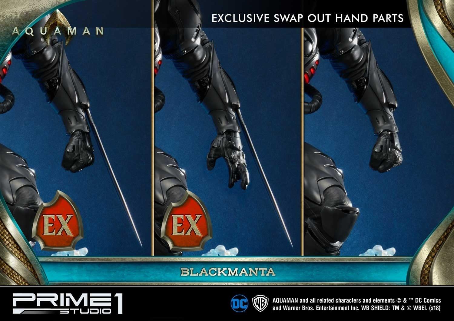 Aquaman Black Manta Prime 1 Studio Statue 10
