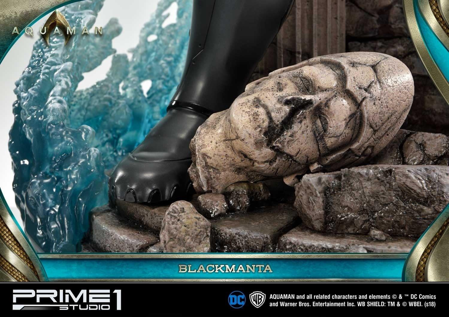 Aquaman Black Manta Prime 1 Studio Statue 19