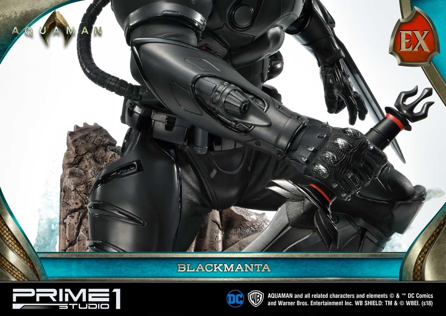 Aquaman Black Manta Prime 1 Studio Statue 9