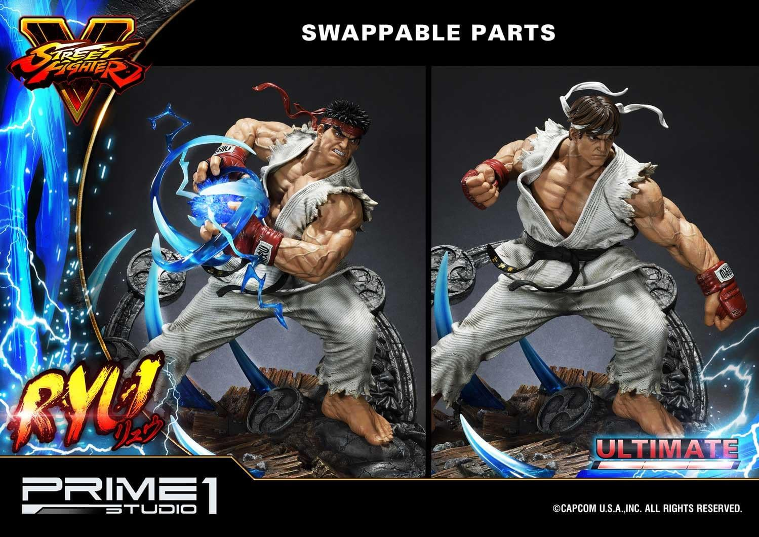 Ryu Is Hadouken Ready In New Street Fighter Prime 1 Studio Statue
