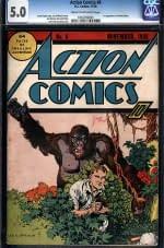 Action Comics 6 (CGC 5.0)