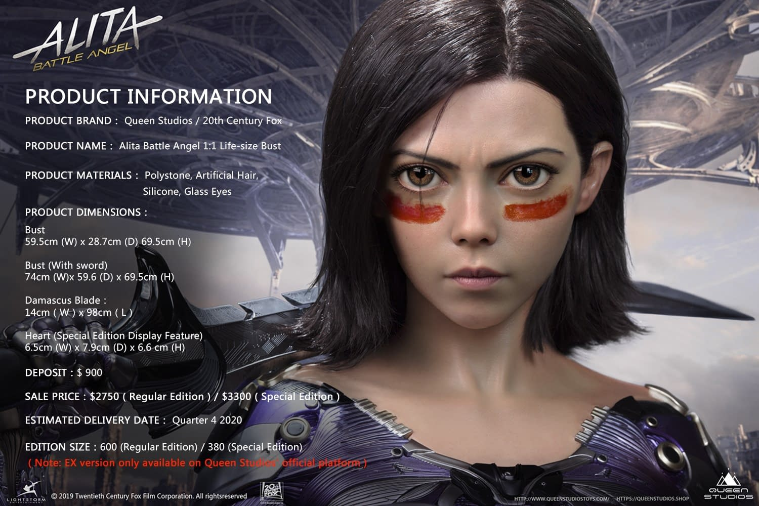 """Alita: Battle Angel"" Gets a"