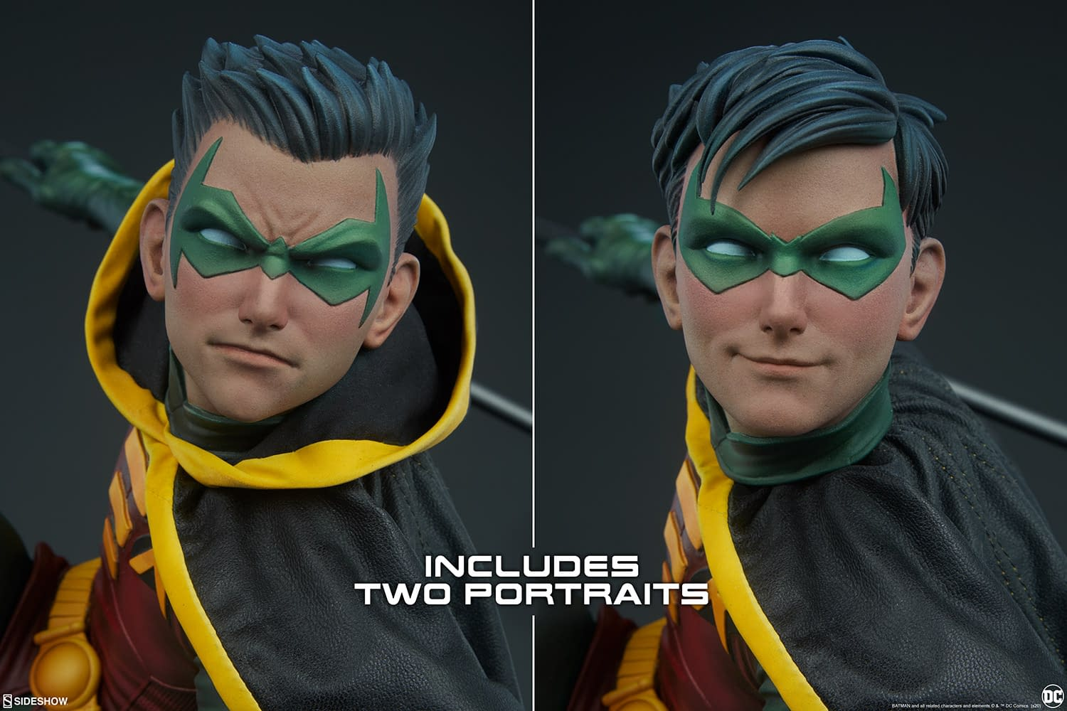 Robin Statue Finally Gets Pre-Orders with Sideshow Collectibles