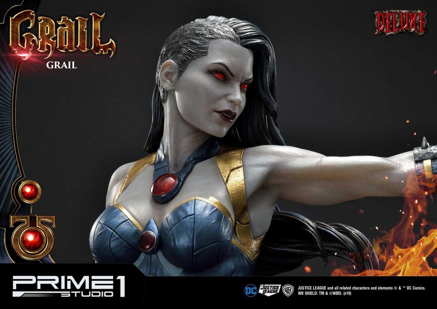 Justice League's Grail Gets Her Own Statue from Prime 1 Studio