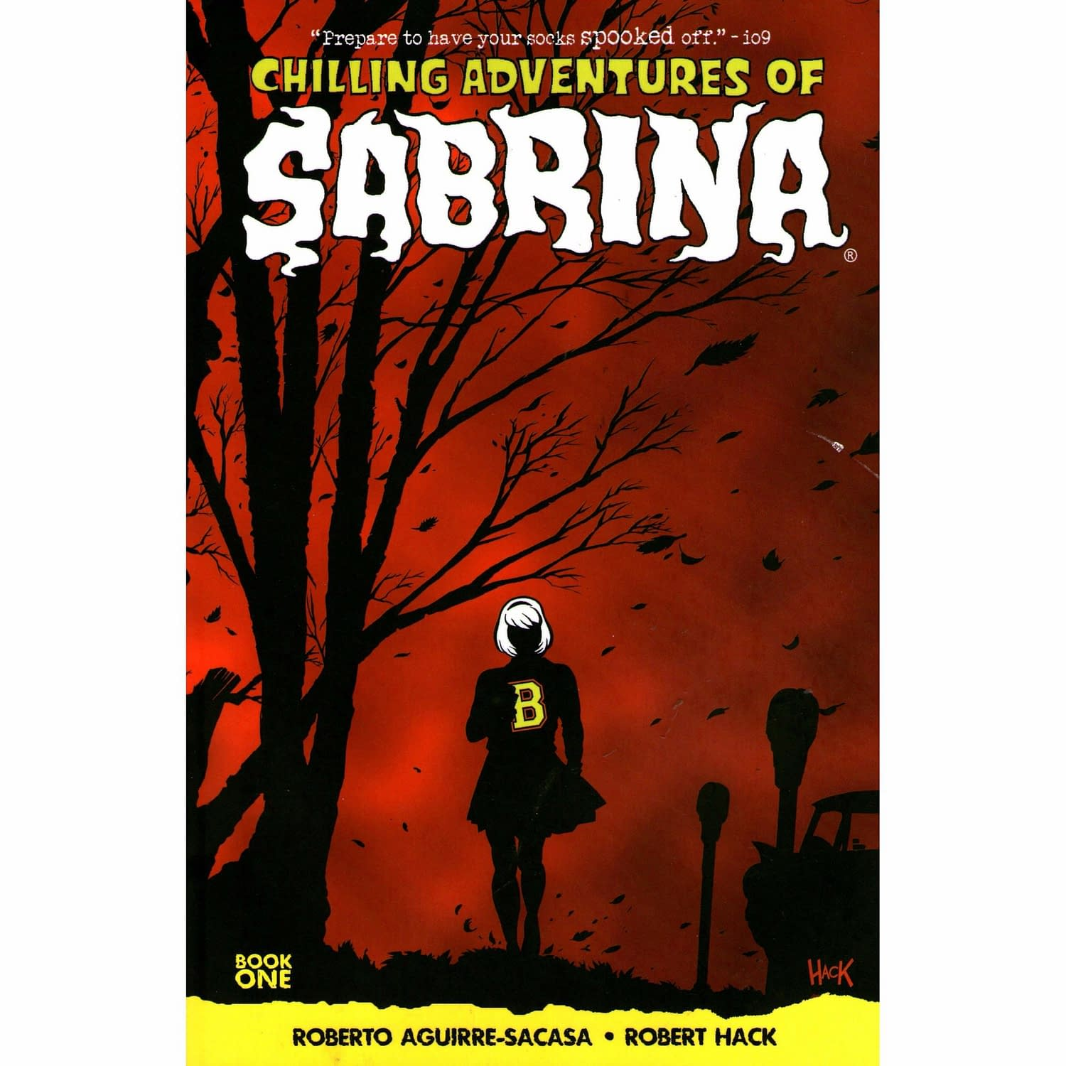 Chilling Adventures of Sabrina COver