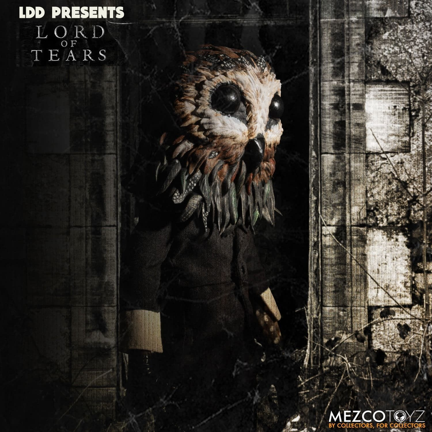 Owlman Is Here and He Wants Your Soul in New LDD from Mezco Toyz