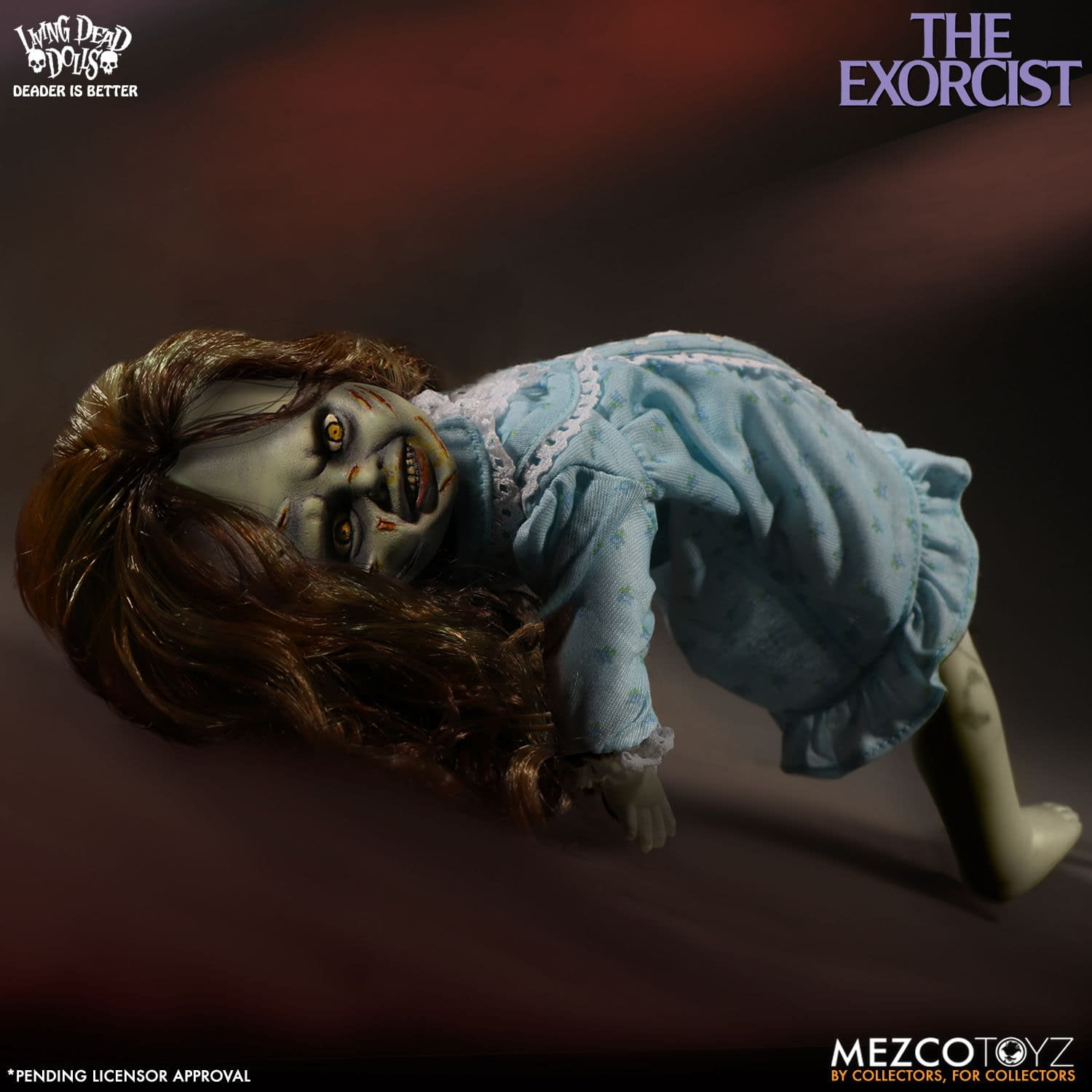 The Exorcist Lives with the New Living Dead Doll from Mezco