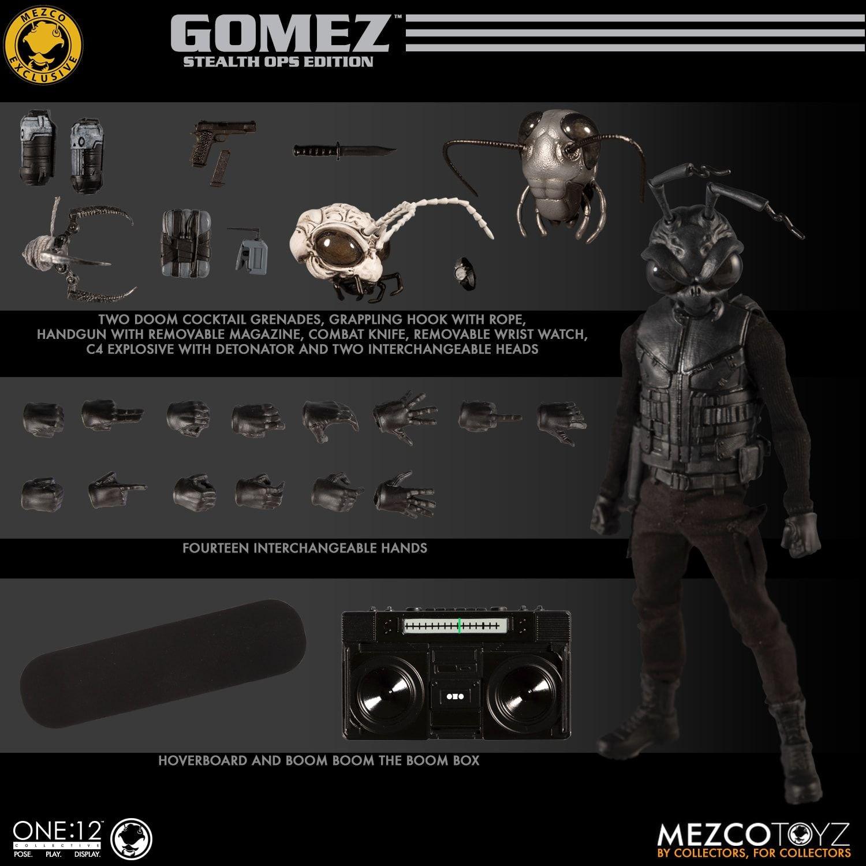 My New Collecting Obsession: Mezco Toyz Gomez