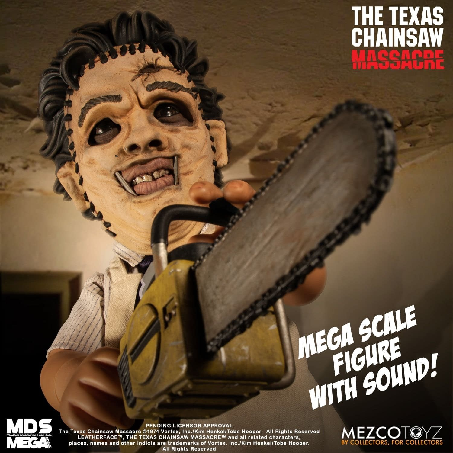 Leatherface is Ready to Chop up Your Collection with Mezco
