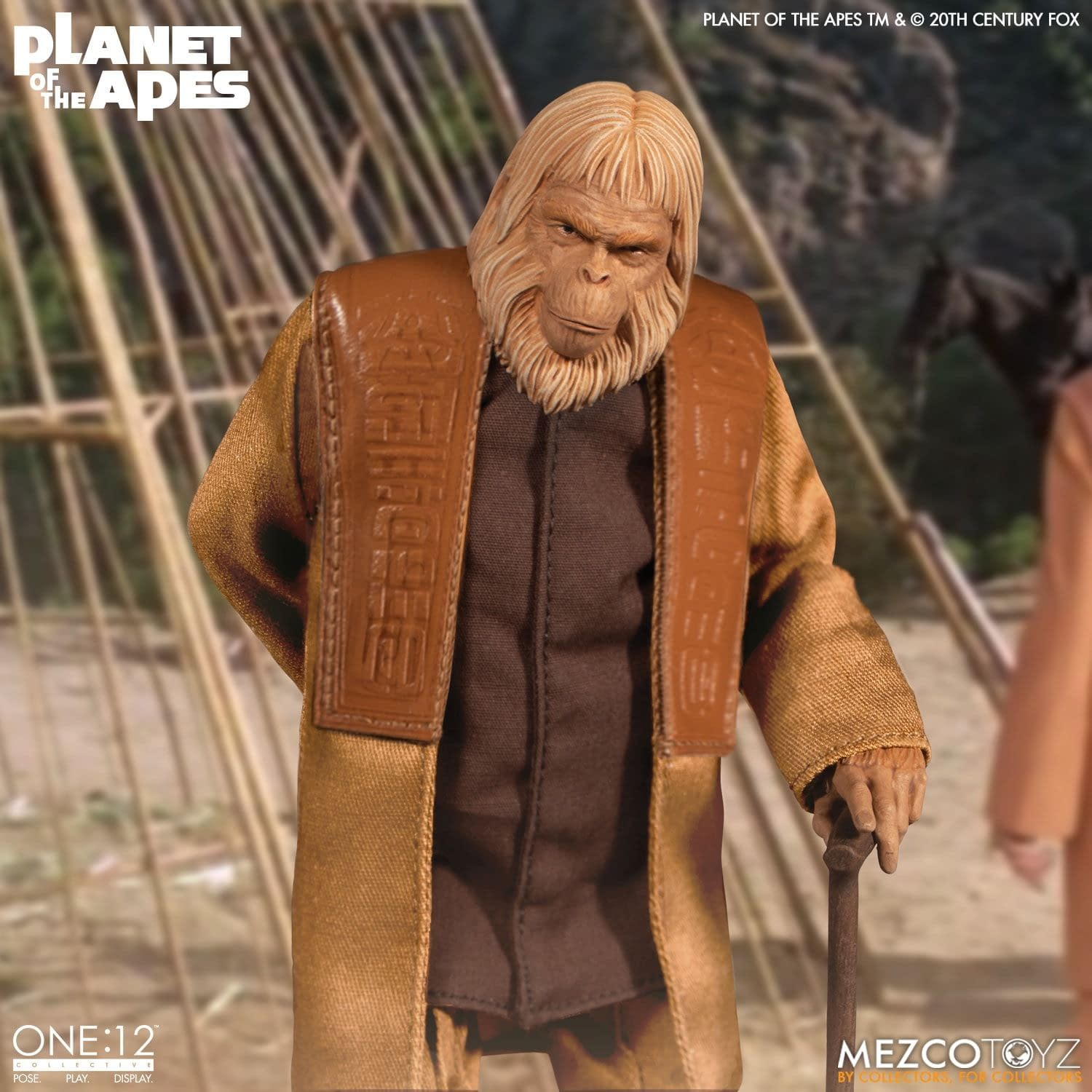 """Planet of the Apes"" (1968) Dr. Zaius Arrives at Mezco Toyz"