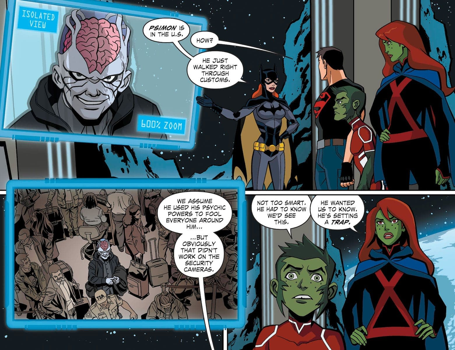 Learn Why You Shouldn't Gossip Around Superboy in Next Week's Young Justice Outsiders Prequel Comic