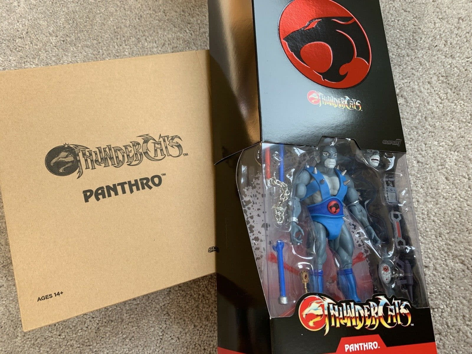 Thundercats Ultimates By Super7: Let's Look At Panthro