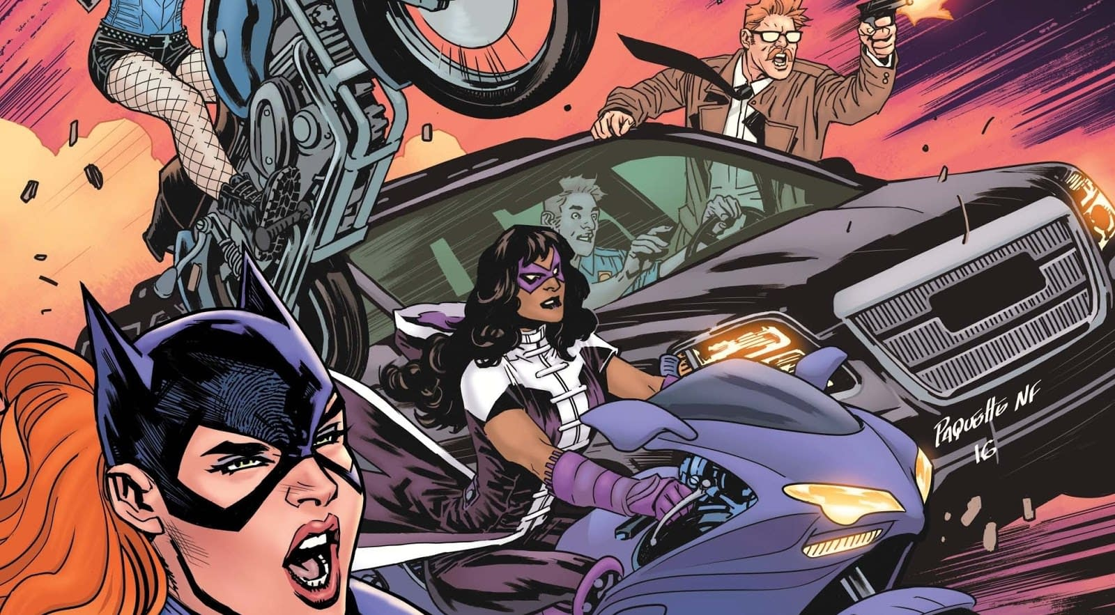 A Well Rounded Thrilling Comic Batgirl And The Birds Of Prey 2