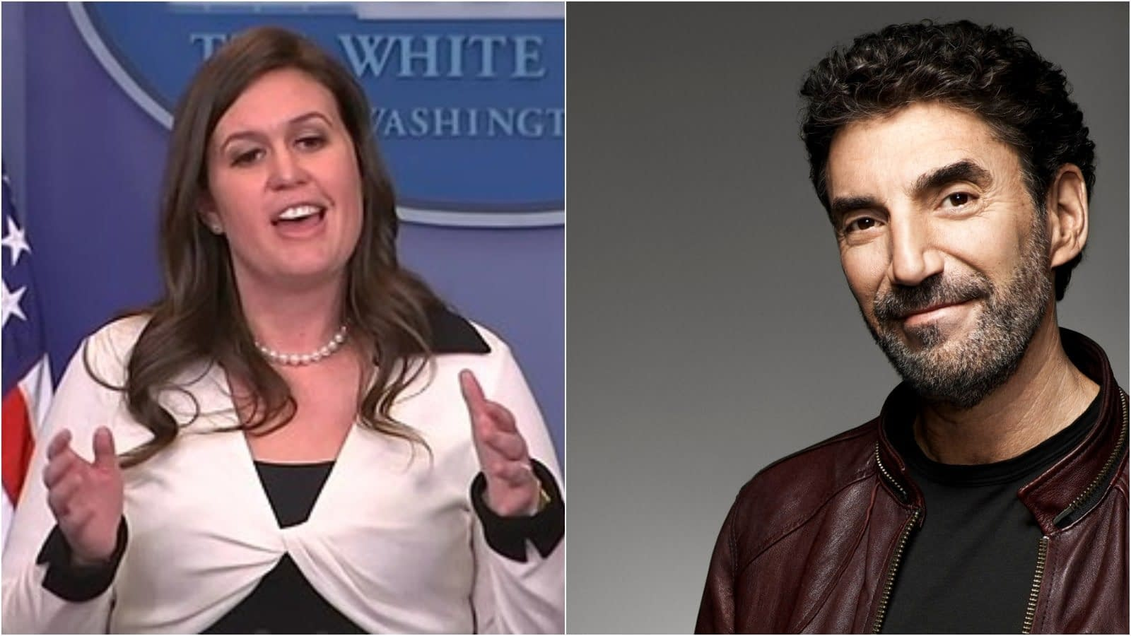 'Big Bang Theory' Creator Chuck Lorre Doubts Sarah Huckabee Sanders Has God on Speed Dial