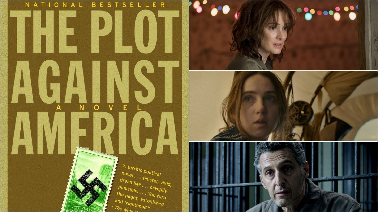'The Plot Against America': Winona Ryder, Zoe Kazan, John Turturro, 4 More Join HBO Miniseries