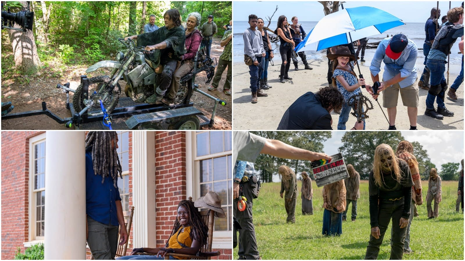 """""""The Walking Dead"""" Season 10: Enjoy These Behind-the-Scenes Moments [PREVIEW]"""