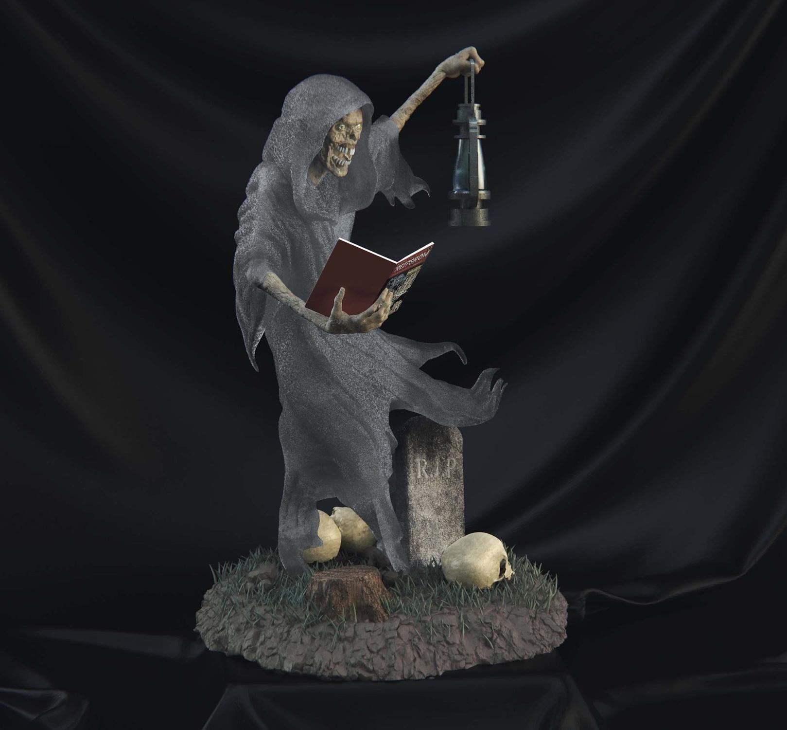 Incendium-Creepshow-Statue-003