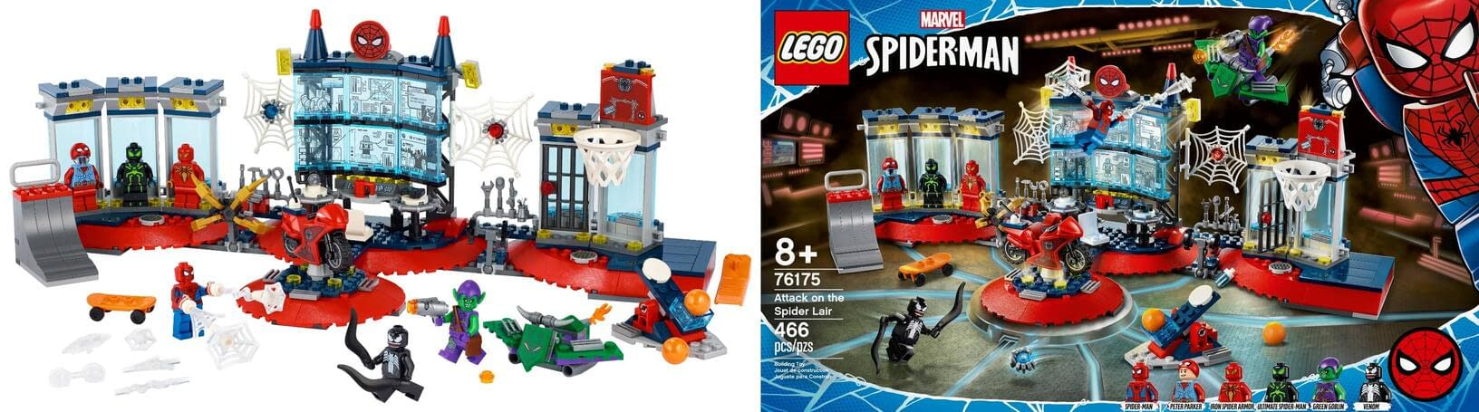 Spider-Man Has His Own Headquarters in New LEGO Set