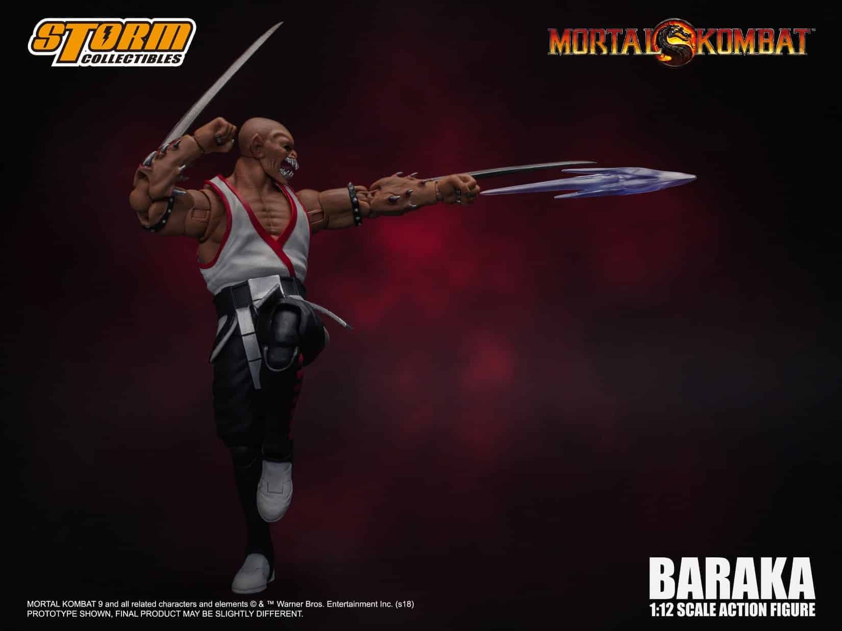 Mortal Kombat Favorite Baraka Gets a Figure From Storm Collectibles