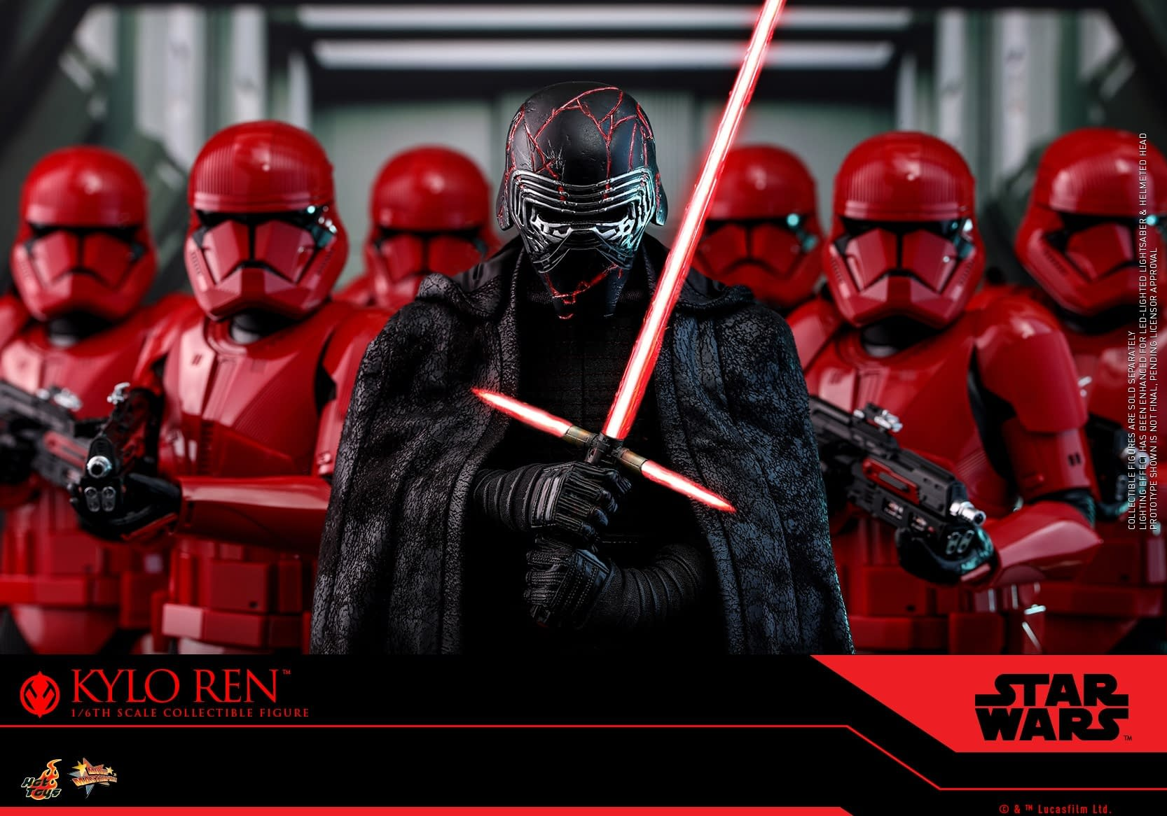 Kylo Ren Prepares for the Rise of Skywalker with Hot Toys