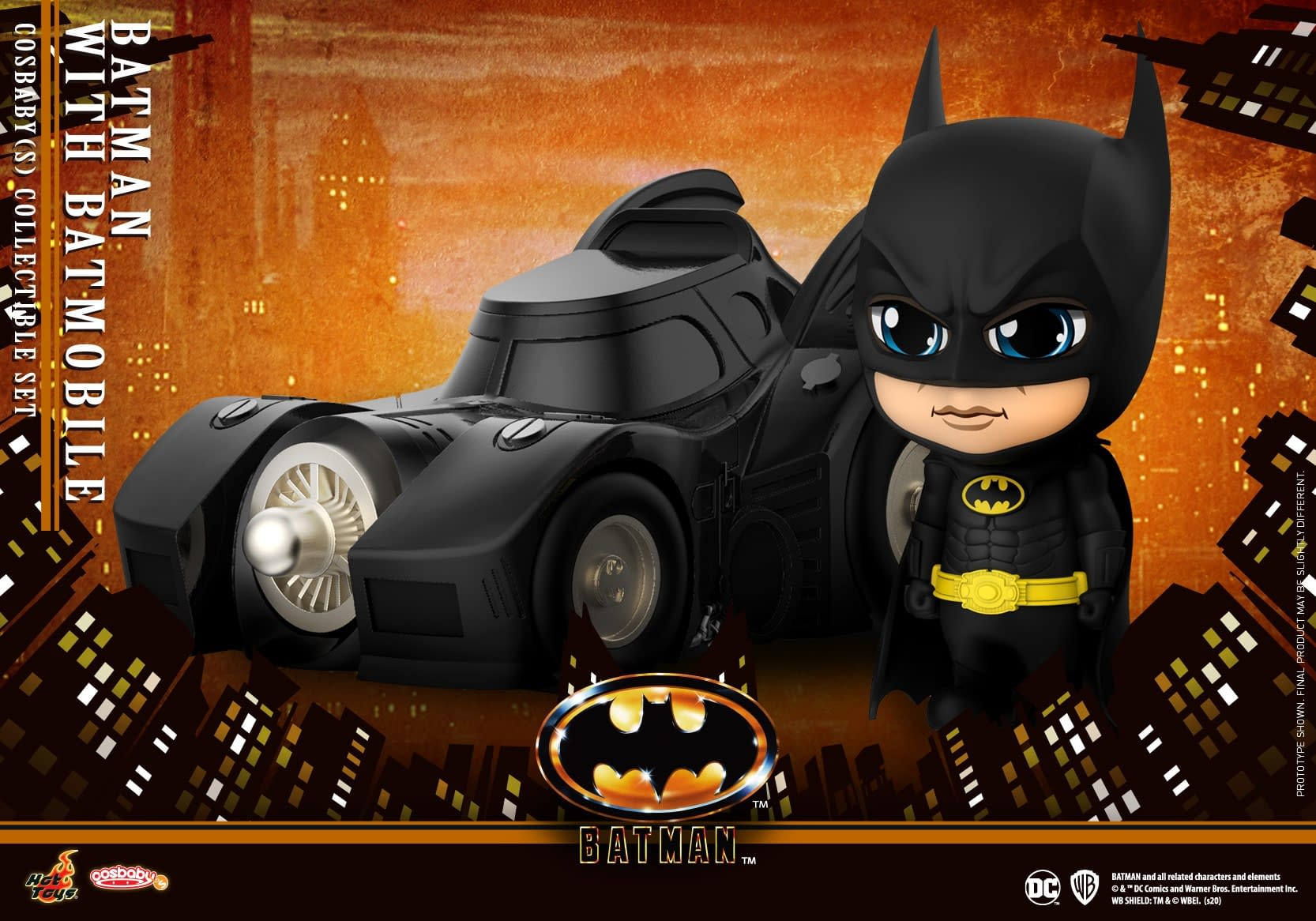 Batman 1989 Gets Adorable with New Cosbaby Figures From Hot Toys