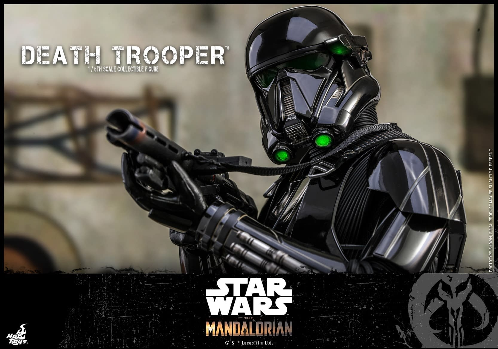 """The Mandalorian"" Death Trooper's Gets Their Own Hot Toys Figure"