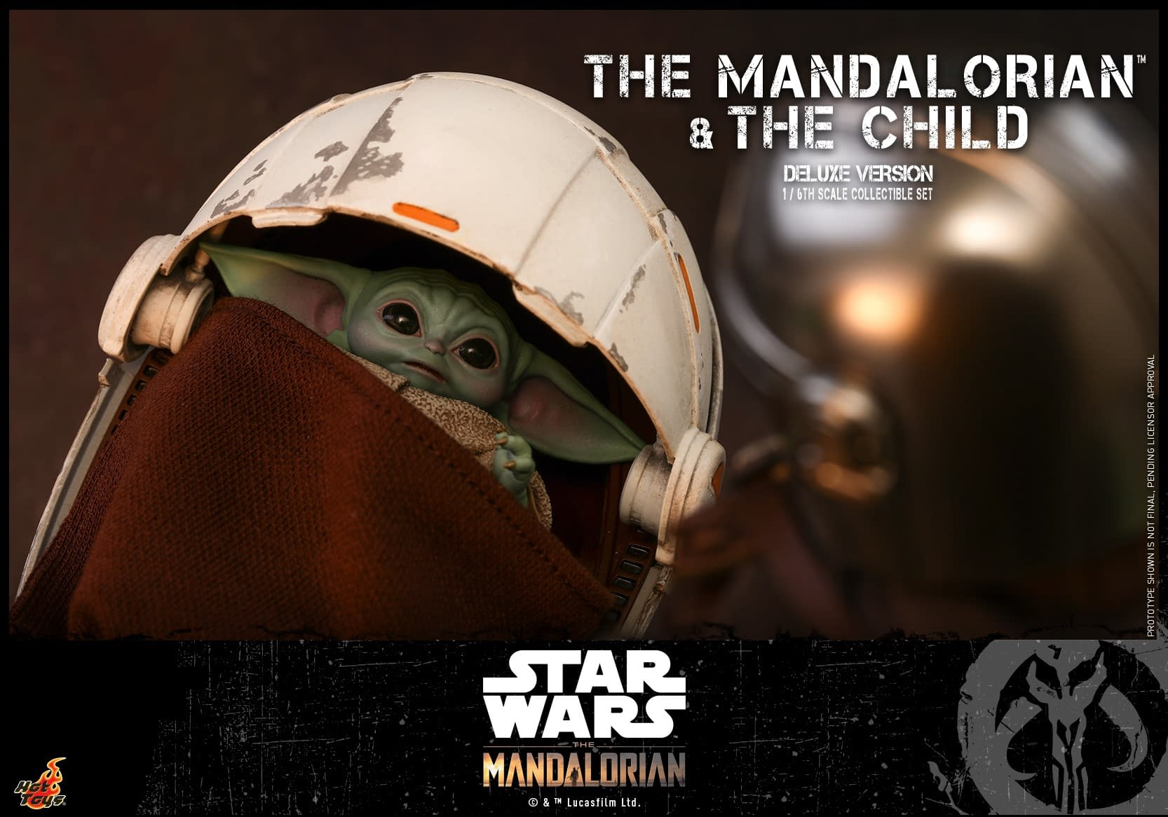 """""""The Mandalorian"""" and The Child Finally Arrive at Hot Toy"""