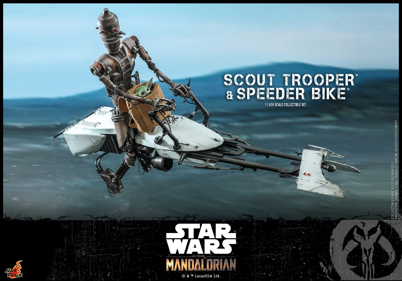 Hot Toys Scout Trooper from The Mandalorian