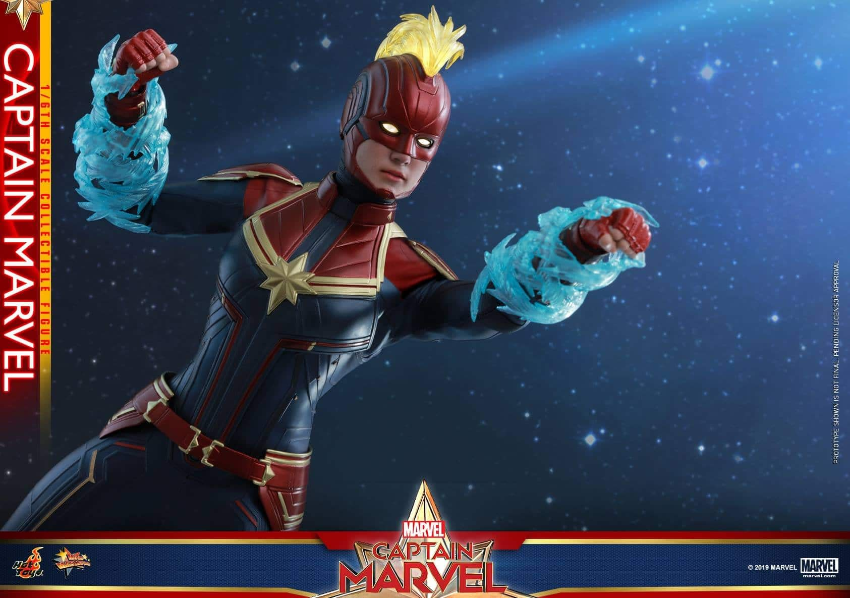 Hot Toys Captain Marvel 10