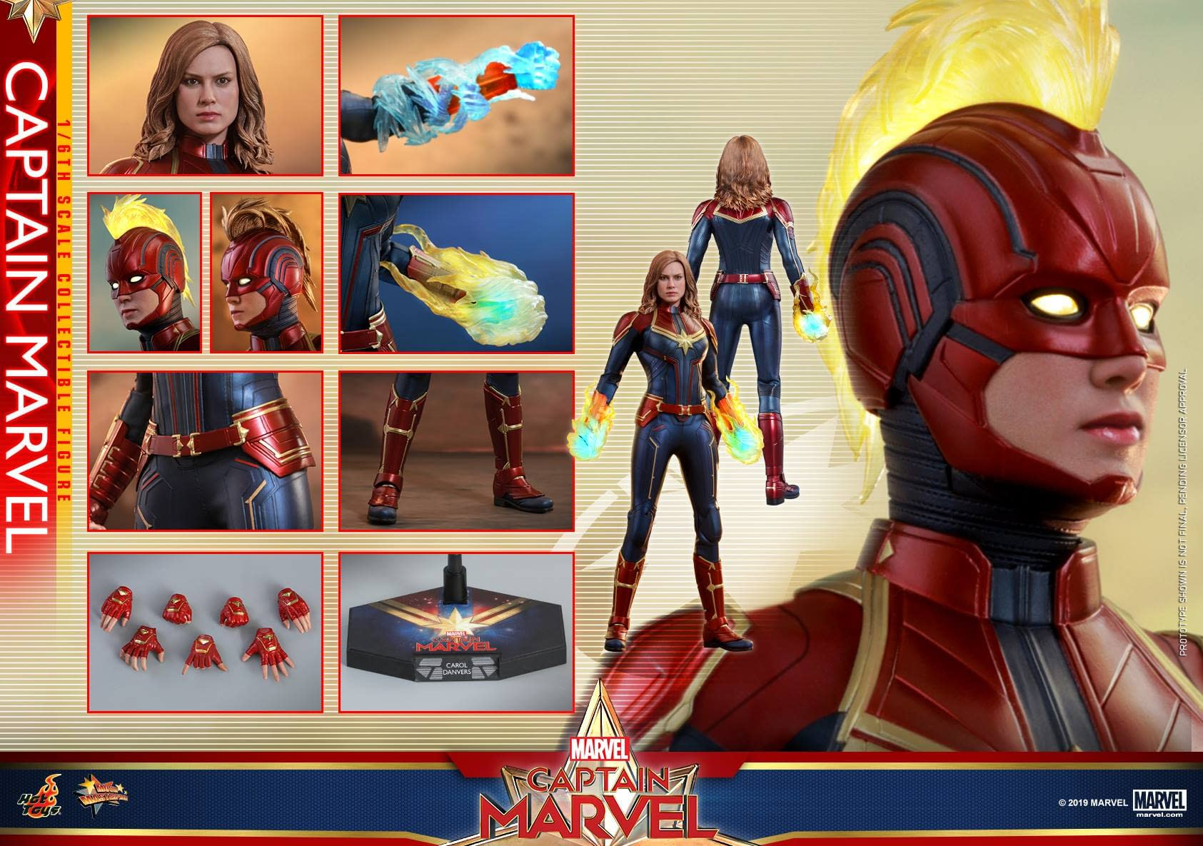 Hot Toys Captain Marvel 15